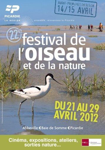 Programme - Festival Oiseau Nature