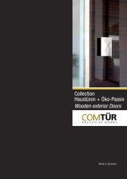 ComTuer Haustüren (pdf, 7930 kb) - Torda Türen