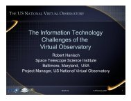 The Information Technology Challenges of the Virtual Observatory