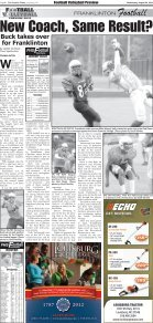 ft football 2012 - The Franklin Times - Page 6