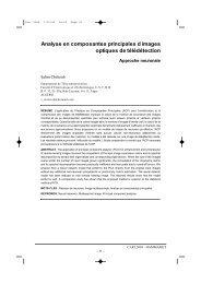 Analyse en composantes principales d images optiques de ...