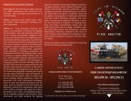 See Our Firefighter / Paramedic Flyer - City of Tulare