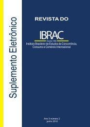 Suplemento da Revista do Ibrac 2 2012
