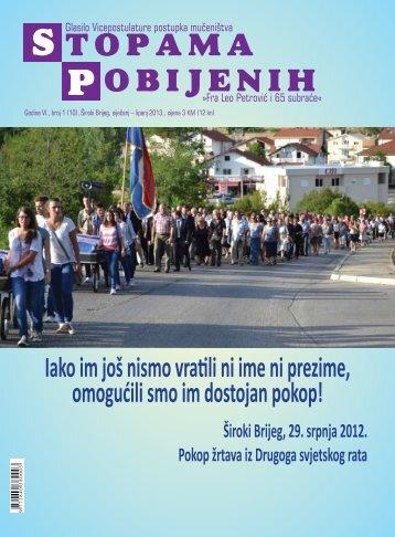 Iz ljetopisa - Pobijeni.info
