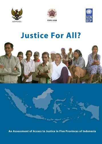 Justice For All? - UNDP