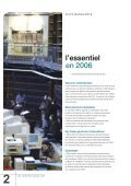 Rapport annuel 2006 - Inpi - Page 4