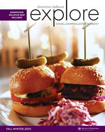 Explore Magazine - Bellevue Downtown Association