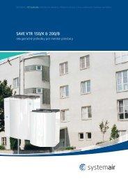 SAVE VTR 150/K & 200/B - Systemair
