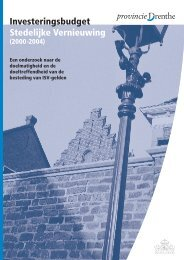 Download het rapport - Provincie Drenthe