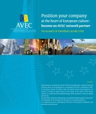 Position your company at the heart of European culture - Qualicities