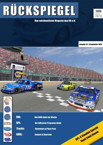 GPL: 6 Stunden Special Team Event Rouen - Virtual Racing eV