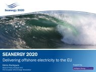 SEANERGY 2020: Delivering offshore electricity to the EU
