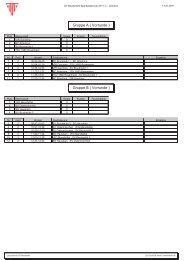 Gruppe A ( Vorrunde ) Gruppe B ( Vorrunde ) - SV Bruckmühl