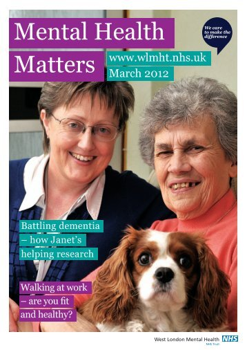 MHM March 2012 - West London Mental Health NHS Trust