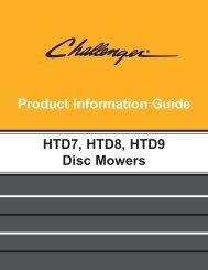 HTD7, HTD8, HTD9 DISC MOWERS - Milton CAT