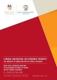 a moral obligation, an economic priority - Results for Development ...