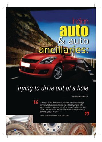 Automotive & ancillaries - Industrial Products