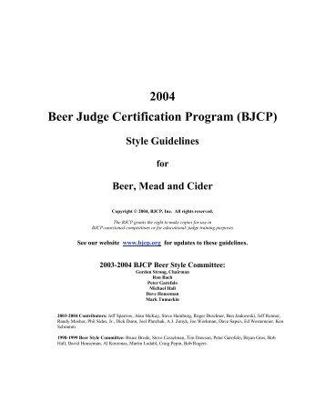 Interim Study Guide - BJCP - MAFIADOC.COM