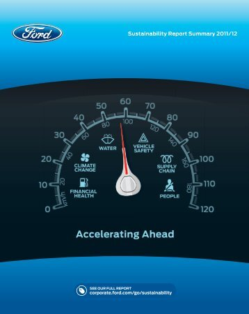 Sustainability Report Summary 2011/12 - Ford Motor Company