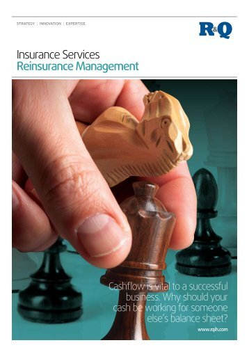 Insurance Services Reinsurance Management