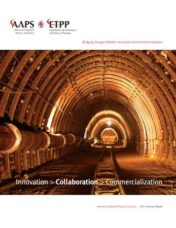Annual Report - Advanced Applied Physics Solutions