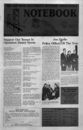 March 1991 - San Francisco Police Officers Association
