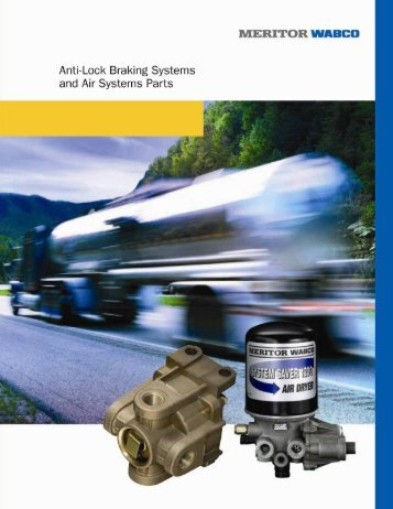 all makes air compressors - competitive - Meritor WABCO