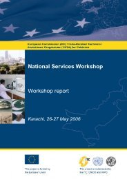 National Services Workshop - TRTA i