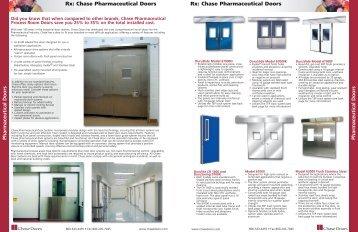 Pharmaceutical Doors Pharmaceutical Doors Rx ... - Tecnologistica
