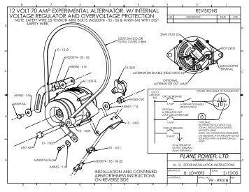Aircraft Alternator Wiring Diagram, Aircraft, Free Engine