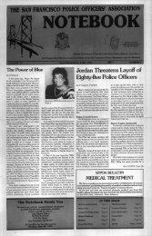 June 1993 - San Francisco Police Officers Association
