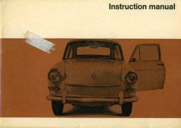 August 1966 Type 3 1600 Owner's Manual - PDF - TheSamba.com