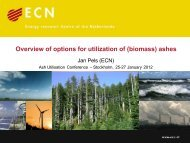 Overview of options for utilization of (biomass) ashes