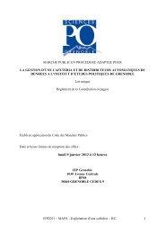 lundi 9 janvier 2012 à 12 heures - Sciences Po Grenoble