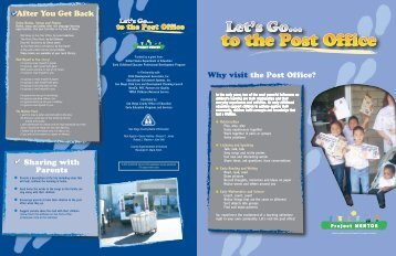 Why visit the Post Office? - Let's Go! Learning Adventures - San ...