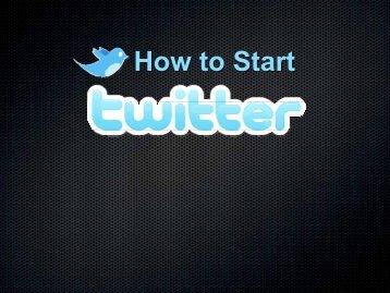 트위터 완벽 활용 트위터 완벽 활용