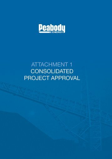 Attachment 1 - Project Approval - Peabody Energy