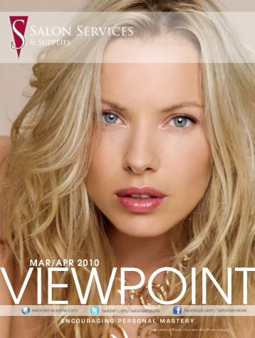 viewpoint mar/apr 2010 - Salon Services & Supplies