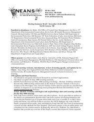 Fall 2008 - Northeast Aquatic Nuisance Species Panel