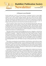 p - Buddhist Publication Society