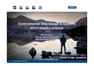 Environmental Ship Design & Systems