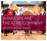 Annual Report - The Shakespeare Theatre Company
