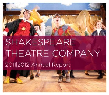 Annual Report - The Shakespeare Theatre Company