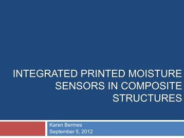 Integrated Printed Moisture Sensors in Composite Structures (pdf).