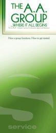 AA Group Manual - Fort Wayne AA