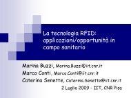 RFID - Istituto di Informatica e Telematica - Cnr