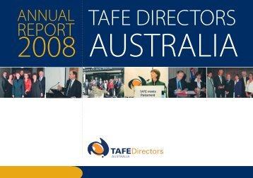 A blueprint for australias tertiary education sector tafe report tafe directors australia malvernweather Images