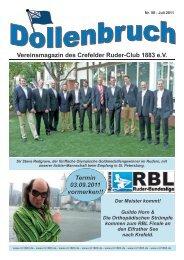 Juli 2011 - Crefelder Ruder-Club 1883 eV