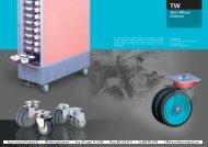 Twin Wheel Castors