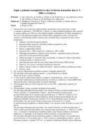 Zápis z€jednání zastupitelstva obce Svitávka konaného dne 6. 3 ...